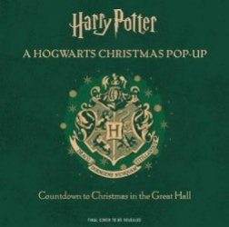 Dernières parutions sur Harry Potter en anglais, Harry Potter: A Hogwarts Christmas Pop-Up