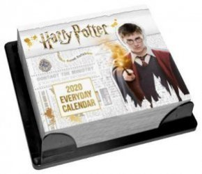 Dernières parutions sur Harry Potter en anglais, Harry Potter 2020 Desk Block Calendar - Official Desk Block Format Calenda