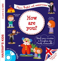 Dernières parutions dans Harrap's parascolaire, Harrap's I learn english : how are you ?