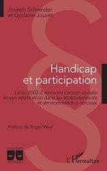 Dernières parutions dans Logiques Juridiques, Handicap et participation