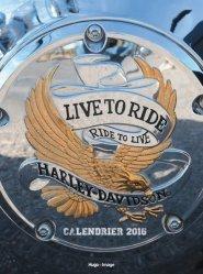 Nouvelle édition Harley Davidson Calendrier 2016