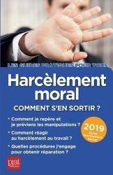 Dernières parutions sur Médecine du travail, Harcèlement moral
