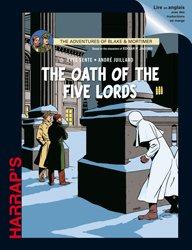 Dernières parutions sur Comics et romans graphiques, The Oath of the five Lords graphic Novel (Blake et Mortimer)