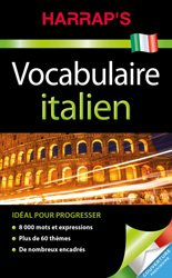 Dernières parutions sur Dictionnaires et références, Harrap's Vocabulaire italien