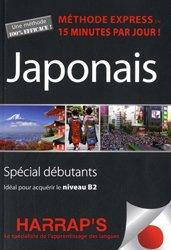 Dernières parutions sur Auto apprentissage (parascolaire), Harrap's méthode express japonais - livre