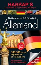 Dernières parutions dans Harrap's Biling. allemand, Harrap's dictionnaire compact allemand