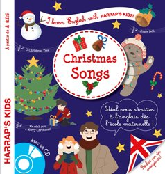 Dernières parutions dans Harrap's parascolaire, Harrap's I learn English with Christmas songs