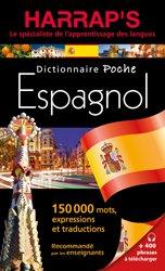 Dernières parutions sur Dictionnaires, Harraps Dictionnaire poche espagnol
