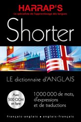 Dernières parutions sur Vocabulaire, Harraps Shorter