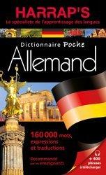 Dernières parutions dans Harrap's Biling. allemand, Harrap's Dictionnaire poche Allemand