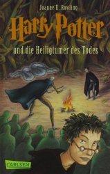 Dernières parutions sur Harry Potter en allemand, Harry Potter die Heilgtümer des Todes