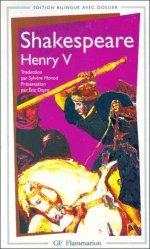 Dernières parutions dans GF, Henry V