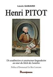 Dernières parutions dans Monographie, Henri PITOT