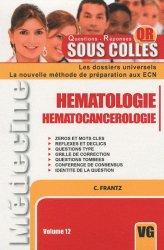 Souvent acheté avec Noms propres, le Hématologie - Hématocancérologie