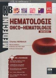Souvent acheté avec Dermatologie, le Hématologie - Onco - Hématologie