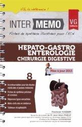 Souvent acheté avec Urologie néphrologie, le Hépato-gastro-entérologie - Chirurgie digestive