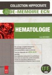 Souvent acheté avec Pédiatrie, le Hématologie