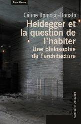 Dernières parutions dans Eupalinos, Heidegger et la question de l'habiter majbook ème édition, majbook 1ère édition, livre ecn major, livre ecn, fiche ecn