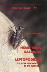 Dernières parutions dans Faune de France, Hémiptères Saldidae et Leptopodidae d'Europe occidentale et du Maghreb