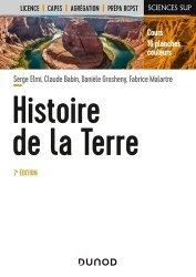 Dernières parutions dans Sciences sup, Histoire de la Terre 7e éd.