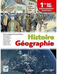 Dernières parutions sur Enseignement agricole, Histoire géographie 1re BAC PRO - Enseignement agricole (2018)