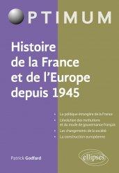 Dernières parutions dans Optimum, Histoire de la France et de l'Europe depuis 1945