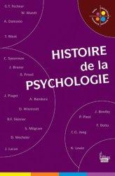 Souvent acheté avec Tout le semestre 1 en fiches mémos - Diplôme d'état infirmier, le Histoire de la psychologie