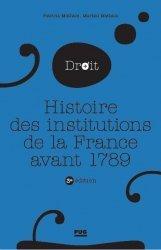 Dernières parutions sur Histoire du droit, Histoire des institutions publiques de la France avant 1789