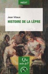 Dernières parutions sur Histoire de la médecine et des maladies, Histoire de la lèpre