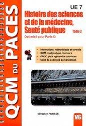 Souvent acheté avec Santé publique, le Histoires des Sciences et de la médecine, Santé publique Tome 2 (Paris 13)