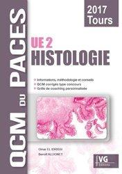 Dernières parutions dans QCM du PACES, Histologie (Tours) livre paces 2020, livre pcem 2020, anatomie paces, réussir la paces, prépa médecine, prépa paces