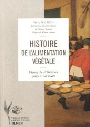 Nouvelle édition Histoire de l'alimentation végétale