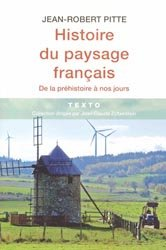 Dernières parutions dans Texto, Histoire du paysage français