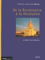 Souvent acheté avec Architecture, le Histoire de l'architecture française