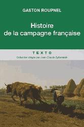 Dernières parutions dans Texto, Histoire de la campagne française