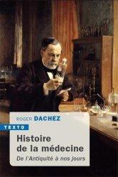 Dernières parutions sur Histoire de la médecine et des maladies, Histoire de la médecine