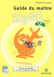 Dernières parutions sur CP, Méthode d'anglais CP Hop in!