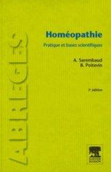 Dernières parutions dans Abrégés, Homéopathie