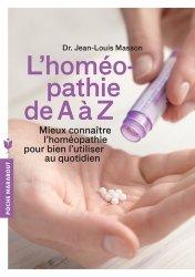 Souvent acheté avec Le sevrage tabagique, le Homéopathie de A à Z