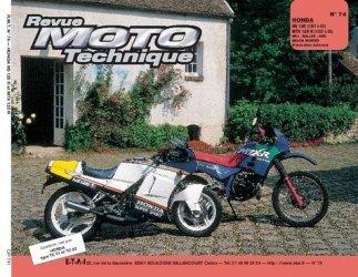 Dernières parutions dans Revue moto technique, Honda  NS 125 R, MTX 125 R (1987 à 89)