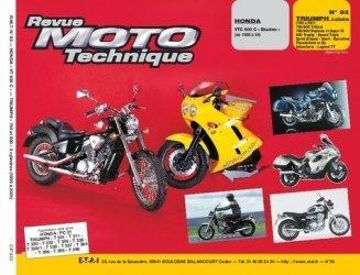 Dernières parutions dans Revue moto technique, Honda VT 600 C ''Shadow'' (de 88 à 94) Triumph 750 et 900 tous types (91-94)