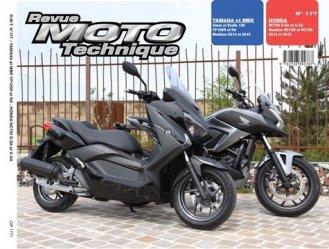 Dernières parutions dans Revue moto technique, Honda nc750sx (14-15), Yamaha xmax 125 (14-15)