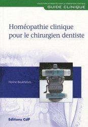 Souvent acheté avec Les implants : chirurgie et prothèse Choix thérapeutique stratégique, le Homéopathie clinique pour le chirurgien dentiste