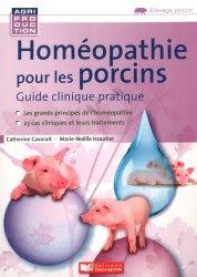 Dernières parutions sur Elevage porcin, Homéopathie pour les porcins