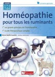 Dernières parutions sur Production animale, Homéopathie pour les ruminants