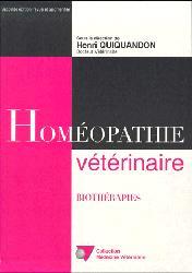 Dernières parutions dans médecine vétérinaire, Homéopathie véterinaire