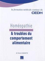 Dernières parutions dans La formation médicale continue du CEDH, Homéopathie & troubles du comportement alimentaire