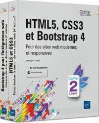 Dernières parutions sur Internet, HTML5, CSS3 et Bootstrap 4