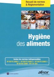 Dernières parutions dans Recueils de normes, Hygiène des aliments