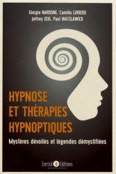 Dernières parutions dans Psychothérapie, Hypnose et thérapie hypnotique